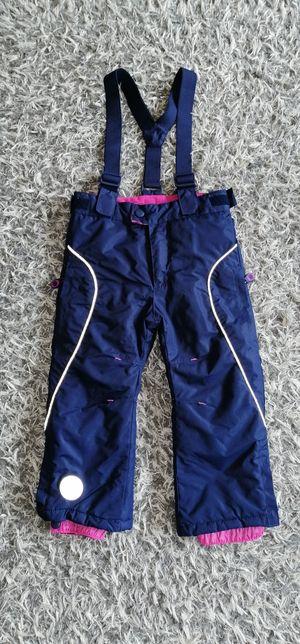 Spodnie narciarskie dziewczęce rozm.98