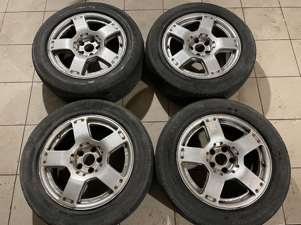 Диски Audi Allroad R17 ET25 7.5J (з ковпачками)
