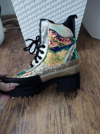 Buty nowe  lekko ocieplane