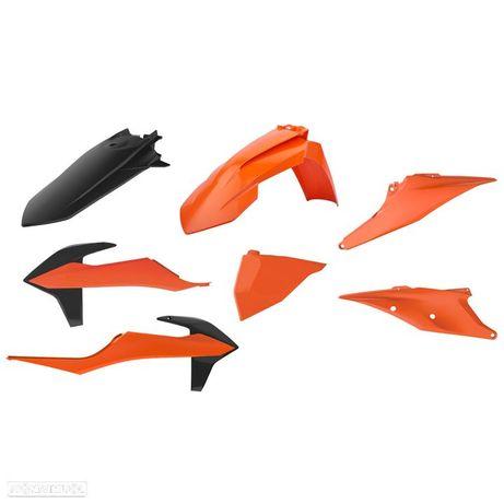 kit plasticos polisport ktm exc-f 250 / 350 / 450