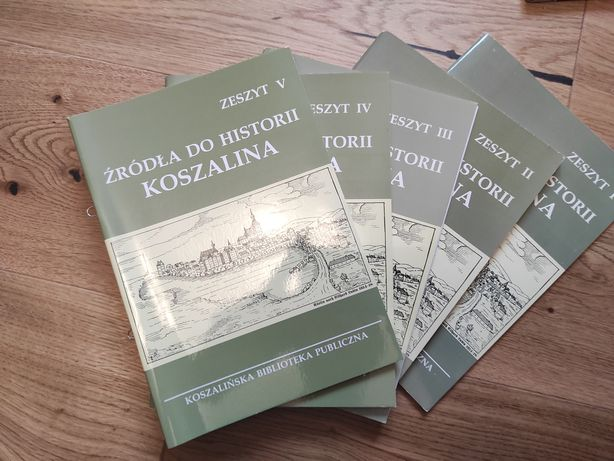 Źródła do dziejów Koszalina zeszyty 1-5