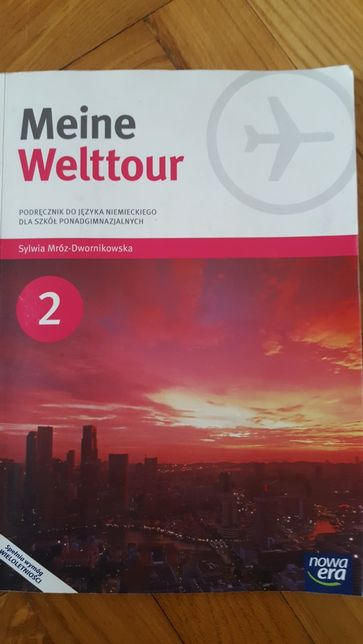 Meine Welttour 2 ,podrecznik do języka niemieckiego nowa era
