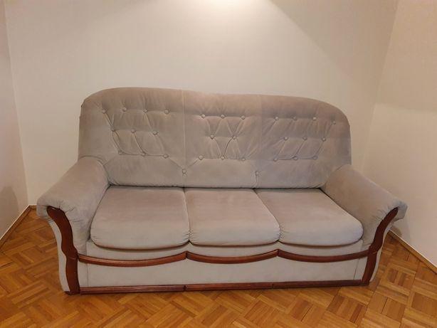 Kanapa/Sofa rozkładana i 2 fotele komplet