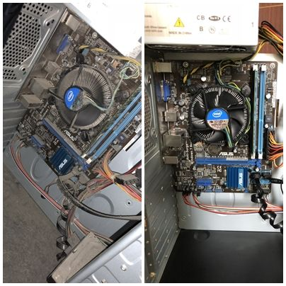 На виїзді, чистка компютера (ноутбука). Встановлення Windows установка