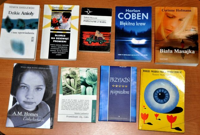 Pozycje książkowe na długie zimowe wieczory.