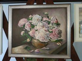 """Obraz """"Piwonie"""" 46x55 cm+rama"""
