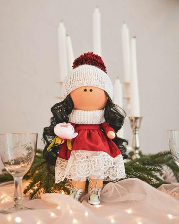 Кукла ручной работы, подарок на Николая, подарок для девочки