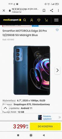 Motorola edge 20 pro Nowa