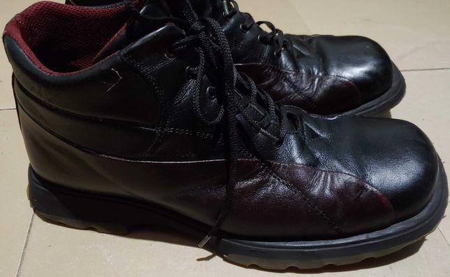 ботинки зимние 43р. 27,5см нат. кожа.