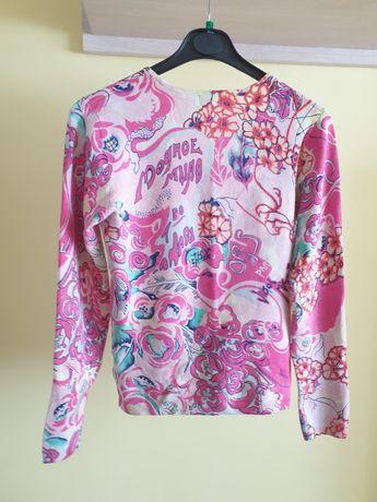 Sweterek damski kolorowy