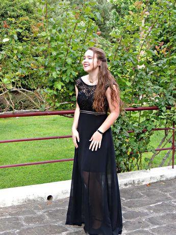 Vestido comprido de cerimónia/baile