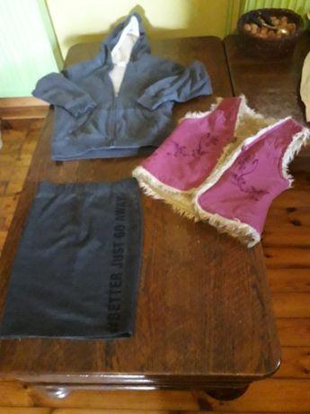 Ubranka dla dziewczynki roz. 140