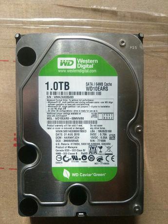 Жосткий диск Western Digital 1,TB в отличном состоянии