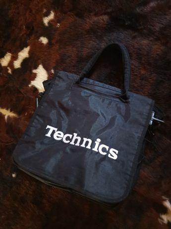 Сумка,, винтажная,, (1975-198)для ношения виниловых пластинок Technics