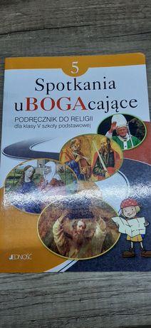 Książka do religii klasa V Spotkania uBogacające