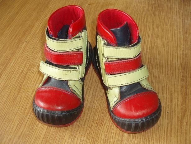 Ботинки кожаные Tofino