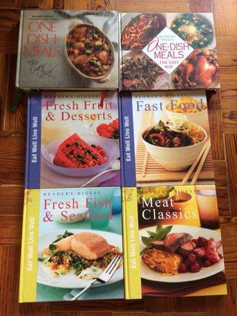 6 Livros de receitas de cozinha Reader's Digest (em Inglês)