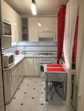 СРОЧНО! Квартира с отличным качественным ремонтом с мебелью и техникой