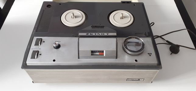 Magnetofon szpulowy Unitra ZK 140 T PRL