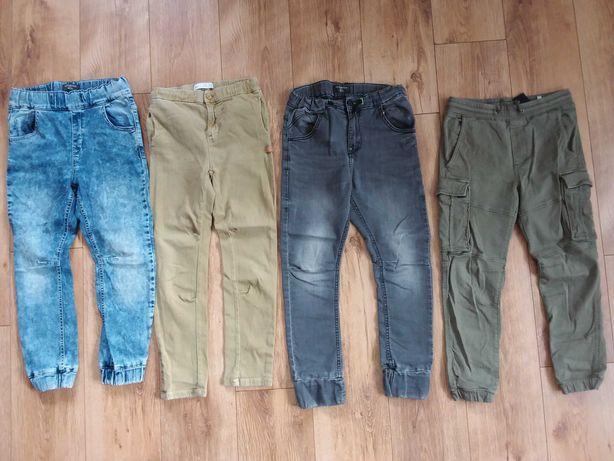 Spodnie Reseved, Zara,HM r.140