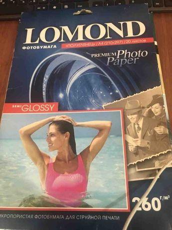 Фотобумага Lomond 13 листов 260г/м2