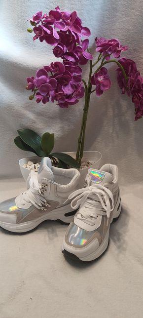 Adidasy białe rozmiar 37