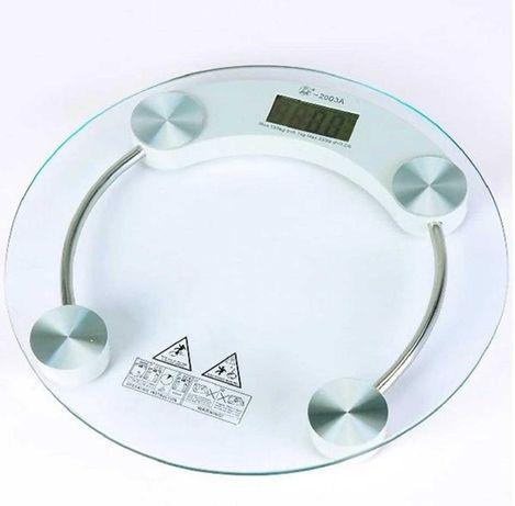 Весы напольные електронные круглые