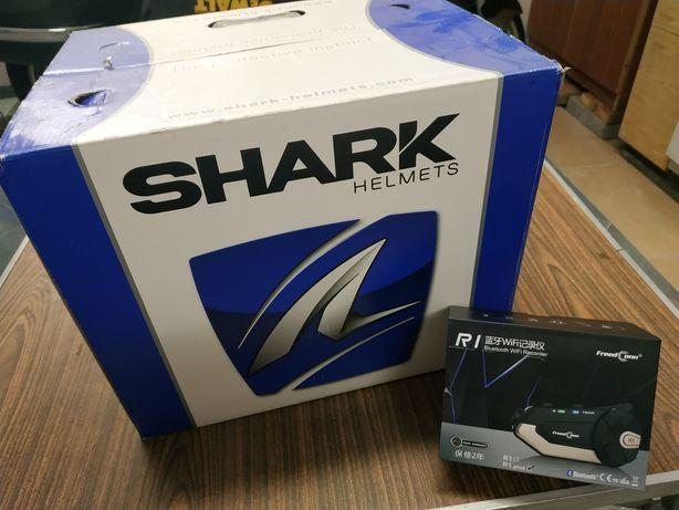 Kask motocyklowy Shark evoline series 3 rozmiar XL+ interkom