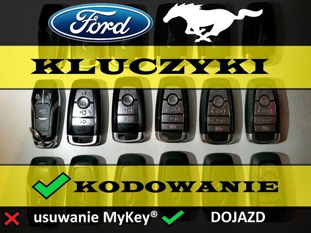 Kluczyk PILOT Ford Fusion EDGE Mustang Keyless KODOWANIE