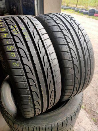 2X 205/40R17 Dunlop 2010r 7,5mm Faktura Gwarancja ADIGO