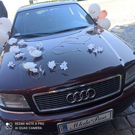 Auto do ślubu -Audi S8 D2 limuzyna