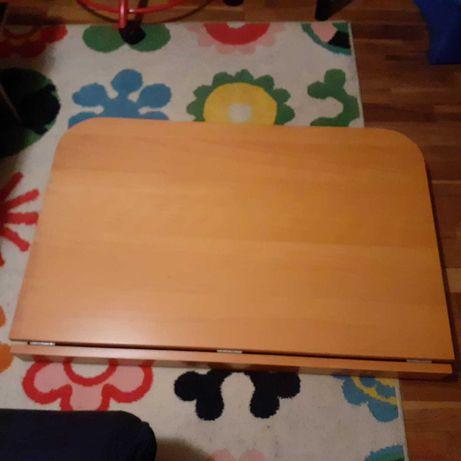 secretária em madeira encerada IKEA suspensa (que rebate)