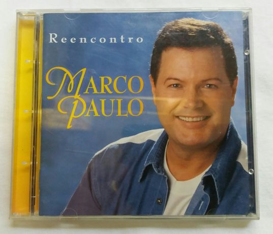 CD Marco Paulo - Reencontro (como novo!)