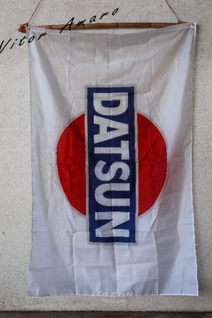 Bandeira Datsun 90x150cm NOVA