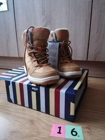Buty zimowe/ śniegowce NOWE rozmiar 33 (16)
