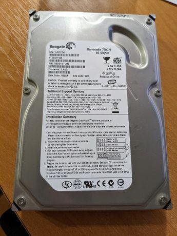 Жорсткий диск Seagate 80GB 7200rpm 2MB ST3802110A ATA IDE винчестер
