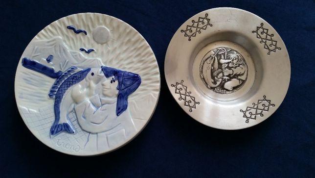 Ceramika ozdobna z Norwegii / rybolowstwo