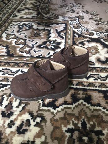 Детские ботинки, Chicco, б/у, 18 р.(11 см)
