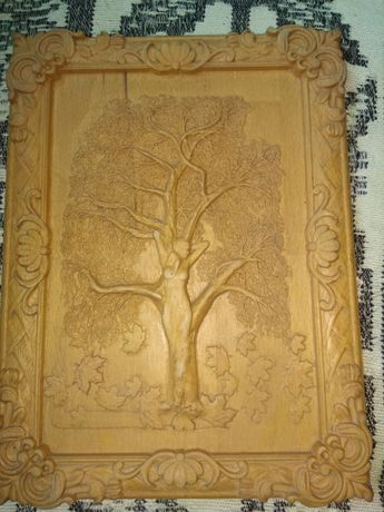 Деревянная картина