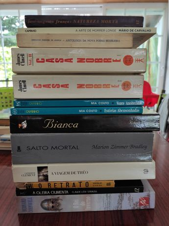 Livros usados a vários precos