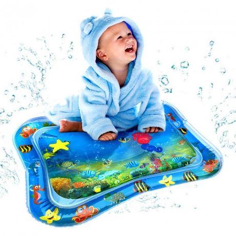 Водный коврик для детей от 3-х месяца разввает моторику малыша