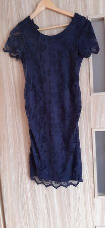 Sukienka ciążowa koronkowa rozm S H&M