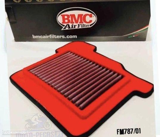 filtro ar bmc mt-09 - xsr 900 - tracer ano 2014 ate 2019 yamaha