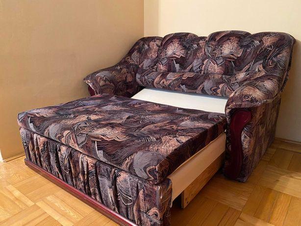 Komplet mebli 3+2+1, kanapa sofa rozkładana + fotel