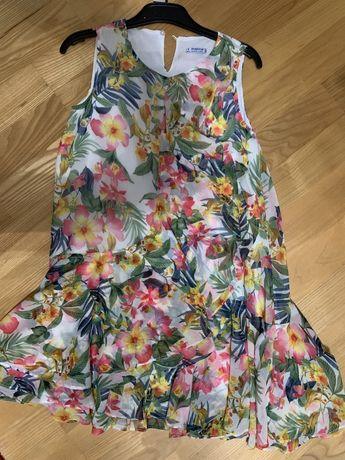 Piękna Sukienka dla dziewczynki firmy Mayoral