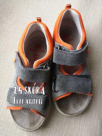 Skórzane sandały Elefanten 24