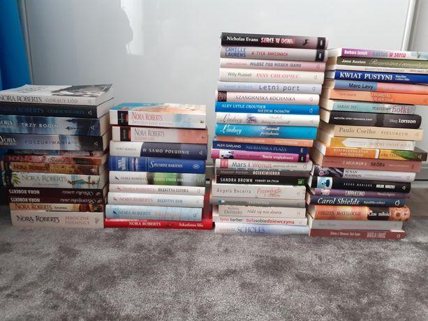 Książki różne- 60 sztuk