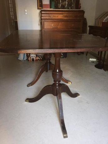 mesa jantar madeira estilo inglês
