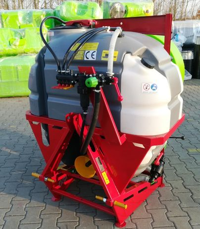 Opryskiwacz sadowniczy 400 litrów z wentylatorem zbiornik 3W1 Nowy