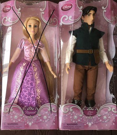 Disney store ROSZPUNKA flynn julek 30cm kolekcja lalka ken nowa